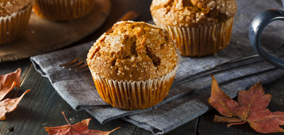 Pumpkin Ginger Mini Muffins
